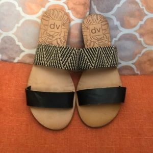 DV by Dolce Vita LEATHER sandals size 8.5